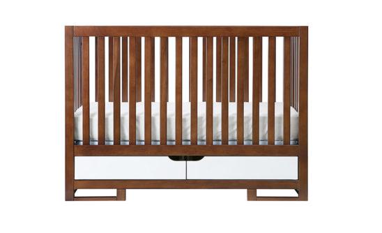 oslo crib two tone