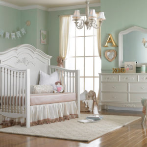 Dolce Babi Angelina Daybed Conversion Pearl