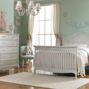 Dolce Babi Angelina Full Bed Conversion Pearl