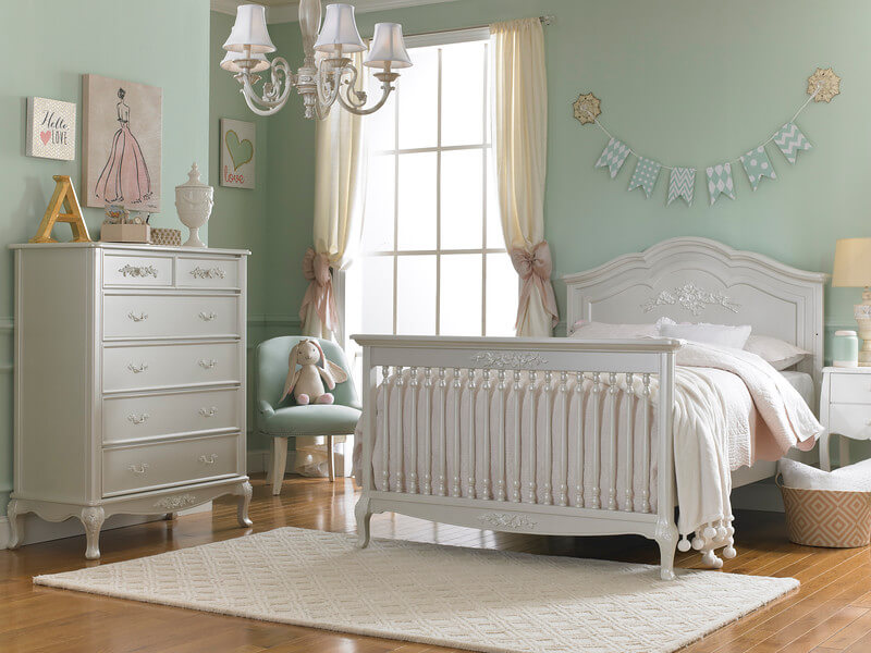 Dolce Babi Angelina Convertible Crib In Pearl Kids