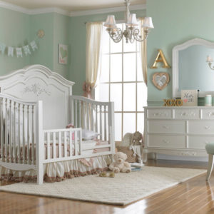 Dolce Babi Angelina Toddler Bed Conversion Pearl
