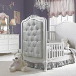 Dolce Babi Angelina Upholstered Toddler Bed Conversion Pearl
