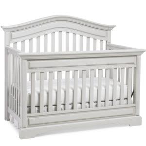 Dolce Babi Venezia Crib Misty Grey Silo