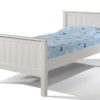 Campground Collection Panel Bed in White
