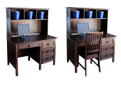 Campground Collection Desk and Hutch