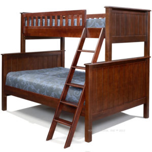 campground Twin over Full Bunk Bed in Espresso