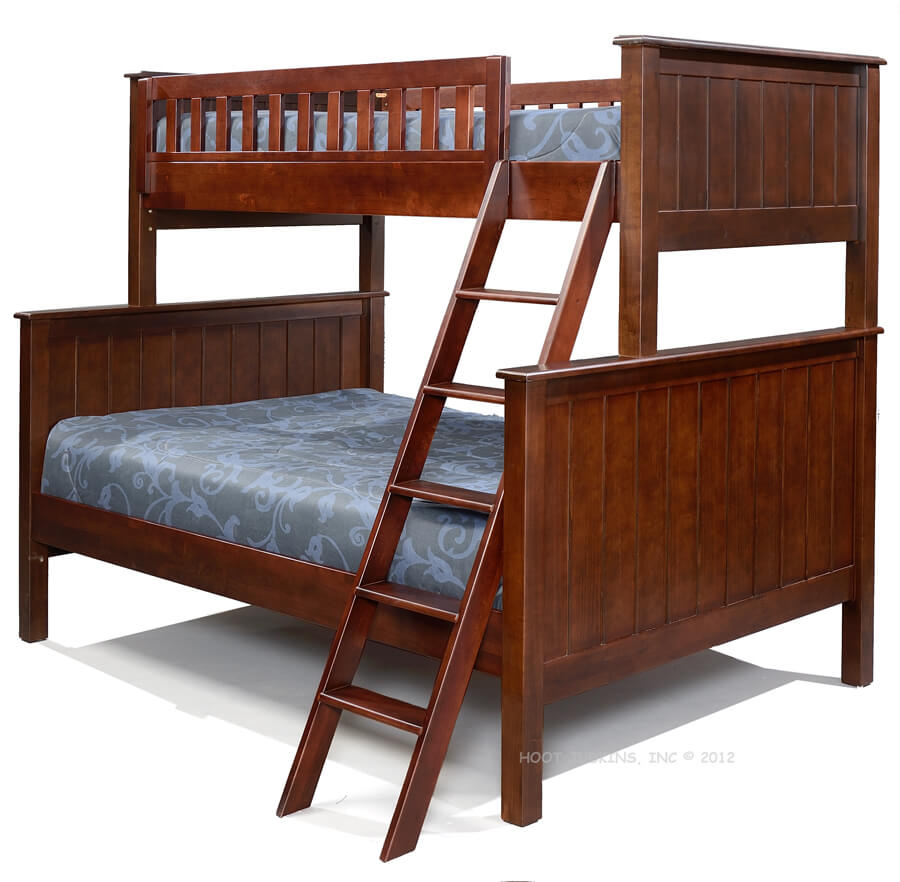 Campground Collection Twin Over Full Bunk Bed In Espresso Kids Furniture In Los Angeles