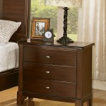 Addley Nightstand in Warm Brown