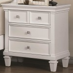 Camellia Nightstand in White