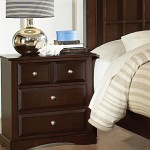 Harbor Collection Nightstand in Cappuccino