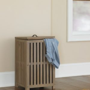 kenwood Collection Clothes Hamper in Driftwood