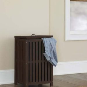 kenwood Collection Clothes Hamper in Espresso