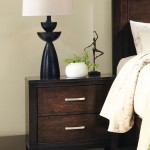 Ingram Collection Nightstand in Antique Brown
