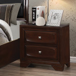 Jaxson Collection Nightstand in cappuccino