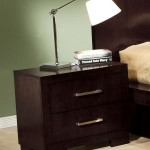 Jessica Collection Nightstand in Cappuccino