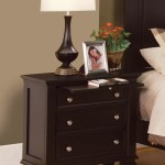 Sandy Beach Nightstand in Cappuccino