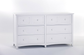 ne kids schoolhouse 6 drawer double dresser