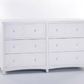 ne kids schoolhouse 6 drawer double dresser