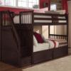 ne kids schoolhouse stair bunk bed