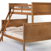 ne kids schoolhouse twin over full bunk bed