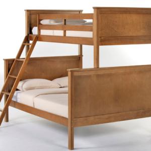 ne kids schoolhouse twin over full bunk bed