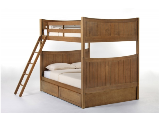 ne kids schoolhouse taylor full over full bunk bed