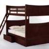 ne kids schoolhouse taylor full over full bunk bed