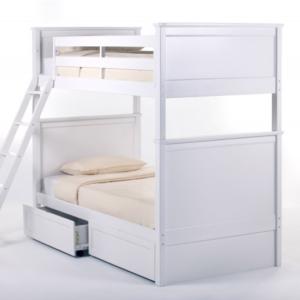 ne kids schoolhouse casey twin over twin bunk