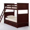 ne kids schoolhouse casey twin over twin bunk