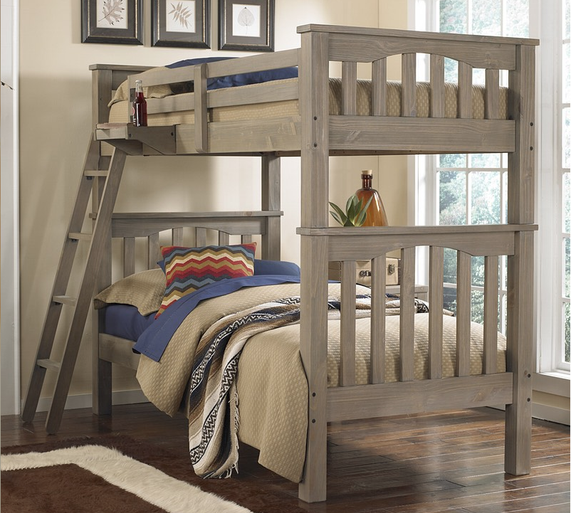 Kenwood Collection Full Over Full Bunk Bed In Driftwood Kids Furniture In L