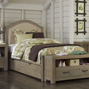 kenwood twin upholstered trundle bed