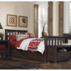 kenwood slatted twin size bed in espresso