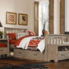 kenwood slatted twin size bed in driftwood