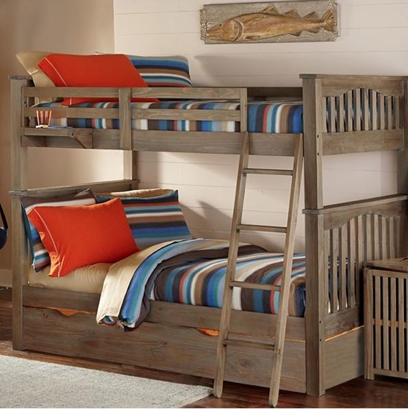 Highlands Harper Full Full Bunk Kids Furniture In Los