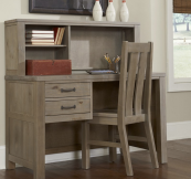 kenwood desk in driftwood