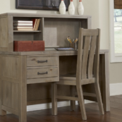 kenwood desk in driftwood