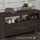 kenwood dressing bench in espresso