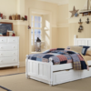 beach house kennedy panel bed in white