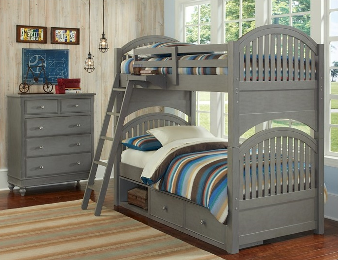 Bunk Bed In Stone Lake House Kids Only Furniture