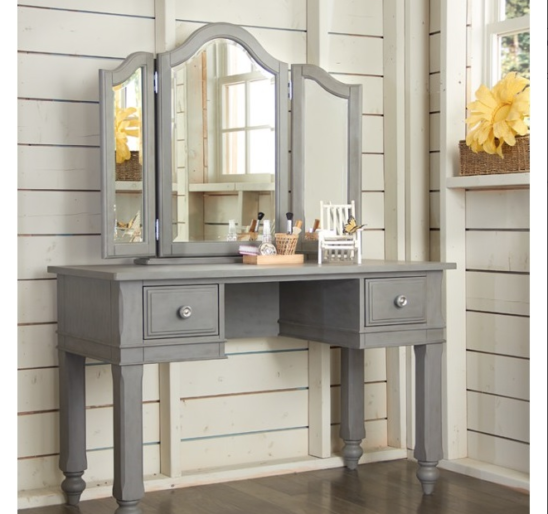 beach house vanity in stone