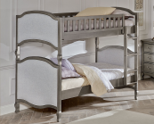 alexandria victoria twin over twin bunk in antique white