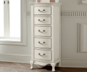 alexandria lingerie chest in antique white