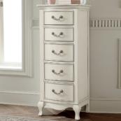 alexandria lingerie chest in antique white