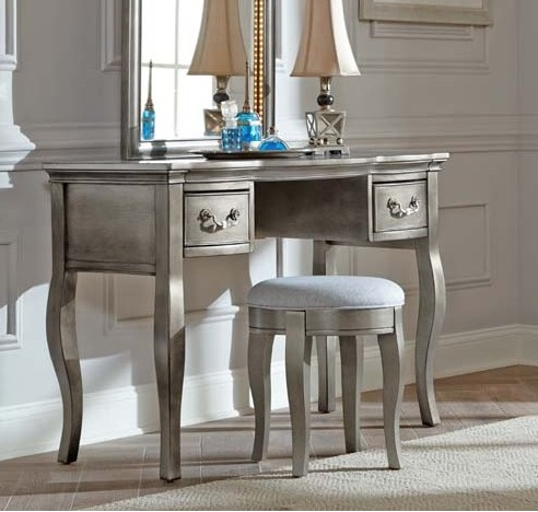 Alexandria Desk and Lighted Vanity