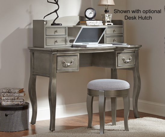 Alexandria Writing Desk and Hutch