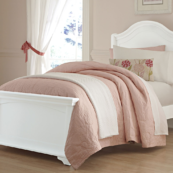 Walnut Street Collection Morgan Bed in White