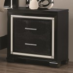 Zimmer Collection Nightstand in Black