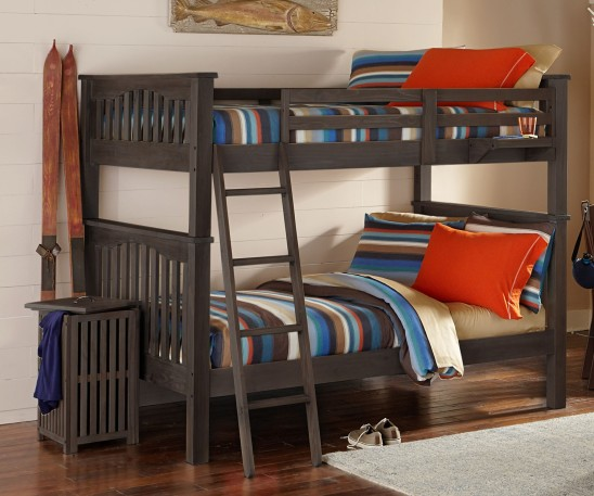 kenwood full over full bunk bed in espresso