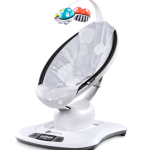 mamaRoo in Silver Plush