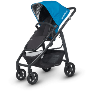 Cruz in Georgie (Marine Blue and Carbon) city stroller